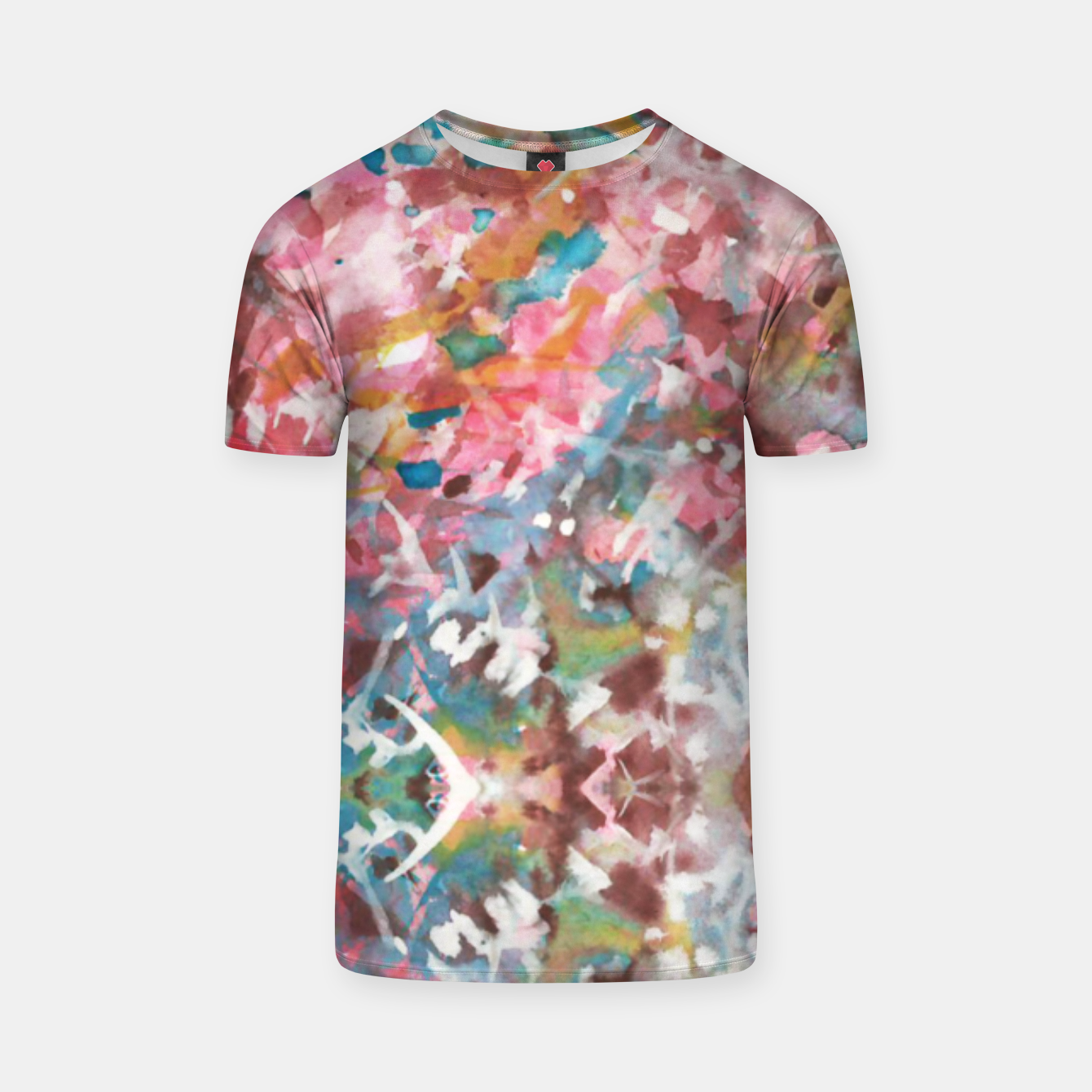 Image of Background Painting 9 T-shirt - Live Heroes