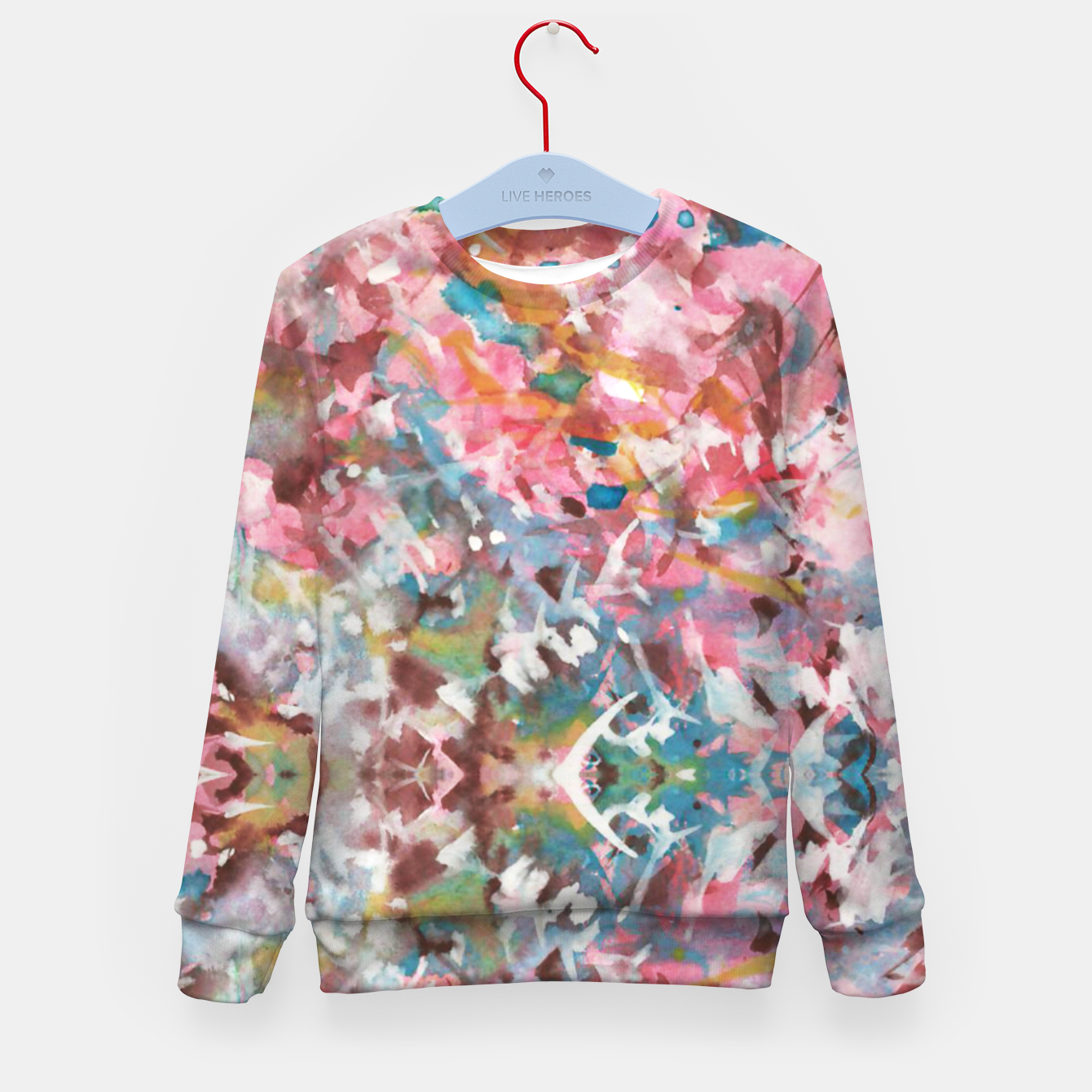 Image of Background Painting 9 Kid's sweater - Live Heroes