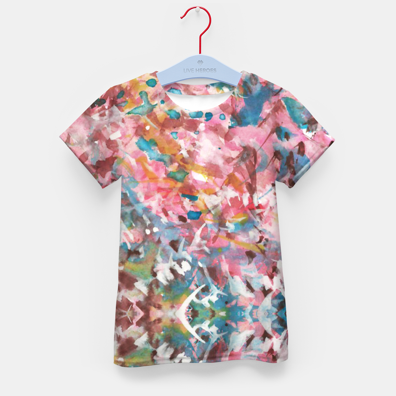 Image of Background Painting 9 Kid's t-shirt - Live Heroes