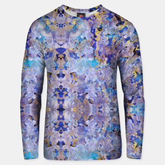 Thumbnail image of Blue Painting Unisex sweater, Live Heroes