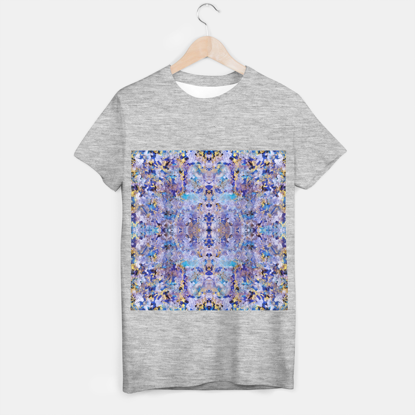 Image of Blue Painting T-shirt regular - Live Heroes