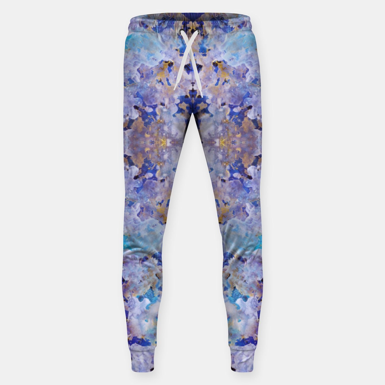 Image of Blue Painting Sweatpants - Live Heroes