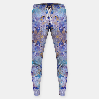 Thumbnail image of Blue Painting Sweatpants, Live Heroes