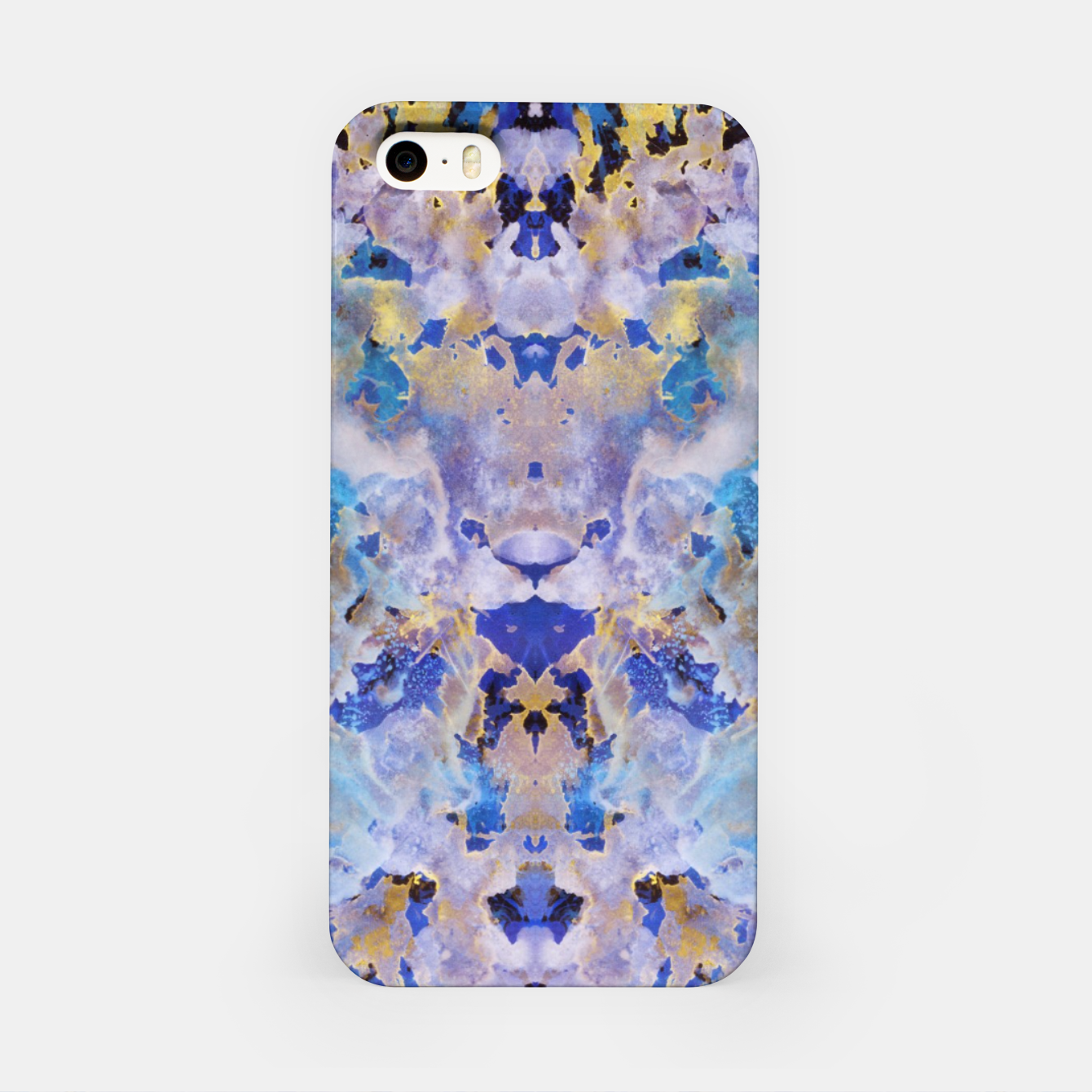 Image of Blue Painting iPhone Case - Live Heroes