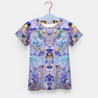 Thumbnail image of Blue Painting Kid's t-shirt, Live Heroes