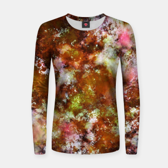 Thumbnail image of Finding tree bark Women sweater, Live Heroes
