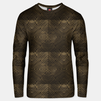 Gold Chain Maille Unisex sweater thumbnail image