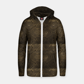 Gold Chain Maille Zip up hoodie thumbnail image