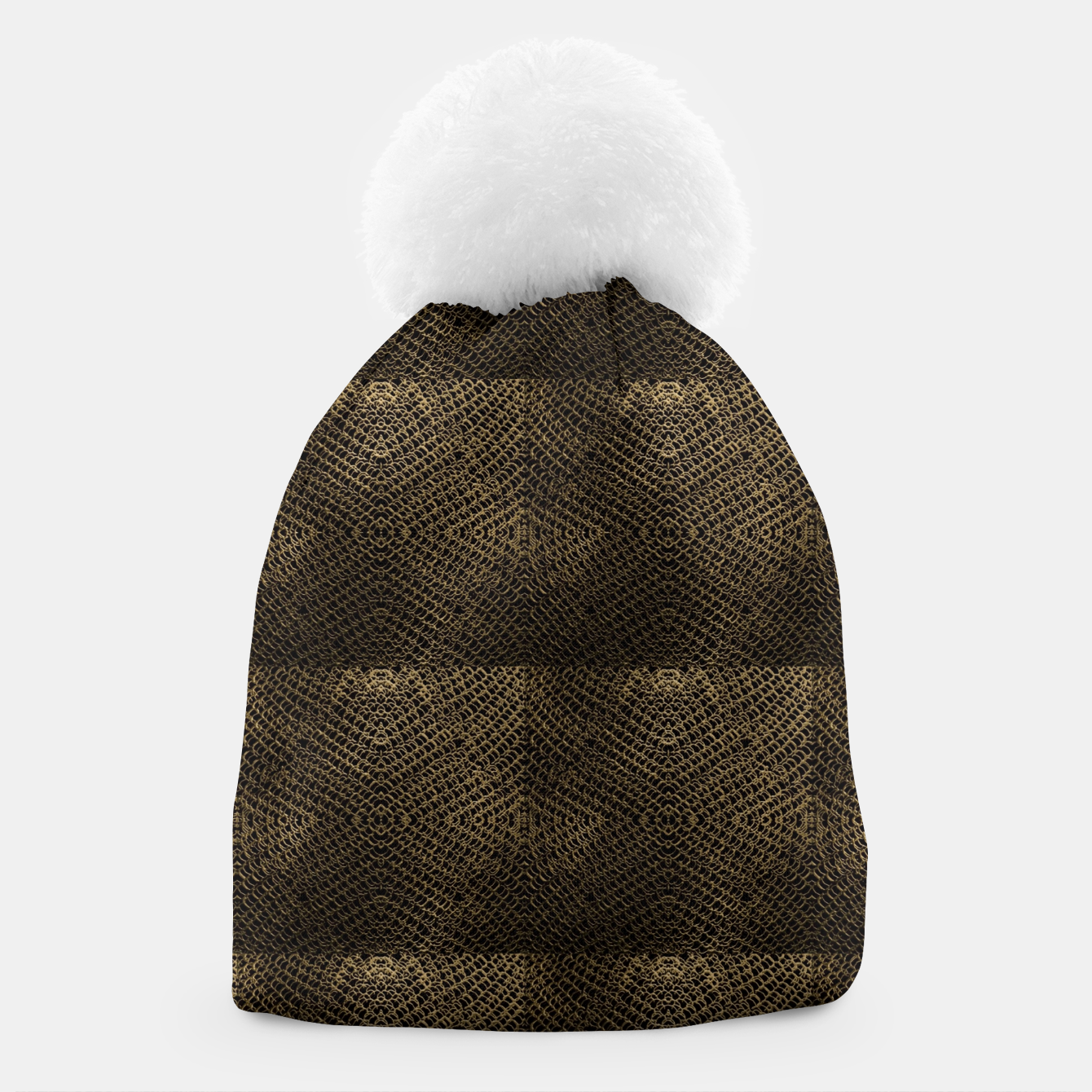 Image of Gold Chain Maille Beanie - Live Heroes