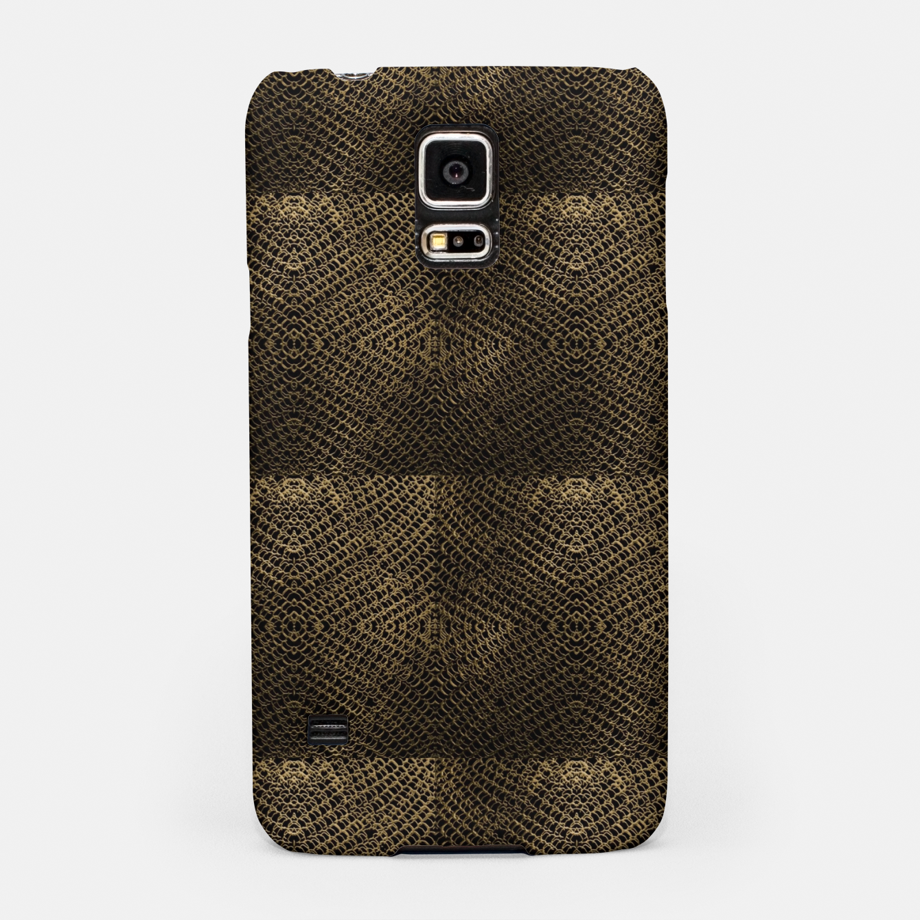 Image of Gold Chain Maille Samsung Case - Live Heroes