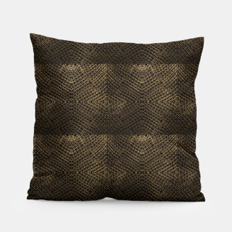 Gold Chain Maille Pillow thumbnail image
