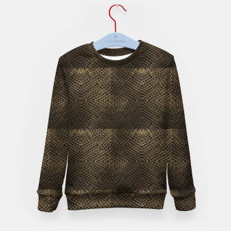 Gold Chain Maille Kid's sweater thumbnail image