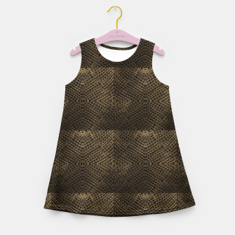 Gold Chain Maille Girl's summer dress thumbnail image