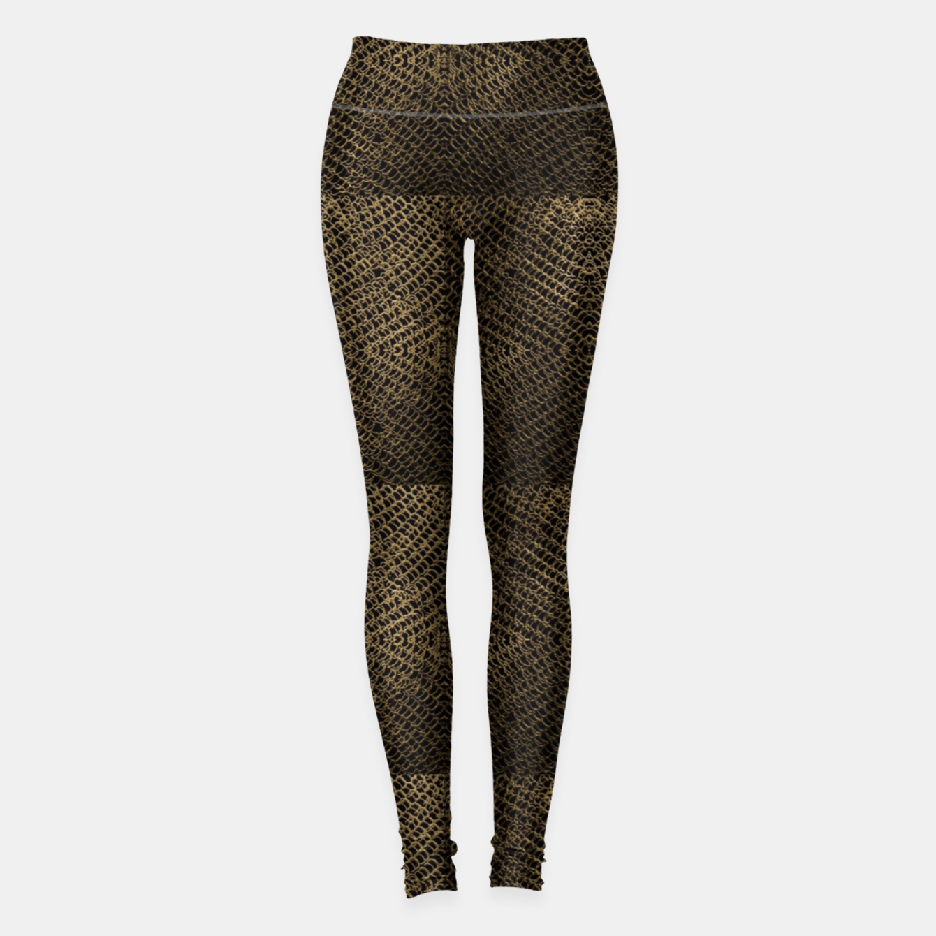 Image of Gold Chain Maille Leggings - Live Heroes