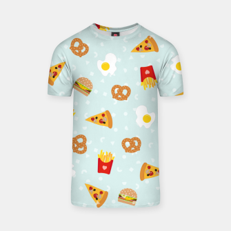 Thumbnail image of T-shirt Fast Food, Live Heroes