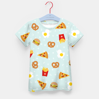 Thumbnail image of Kid's t-shirt Fast Food, Live Heroes