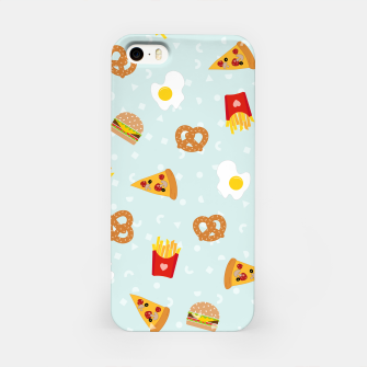 Thumbnail image of iPhone Case Fast Food, Live Heroes