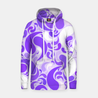 Thumbnail image of Lavender dreams, violet dancing drops, geometric shapes in lilac color shades Hoodie, Live Heroes