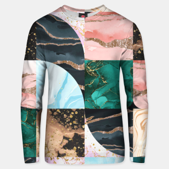 Marble Obsession Unisex sweater thumbnail image