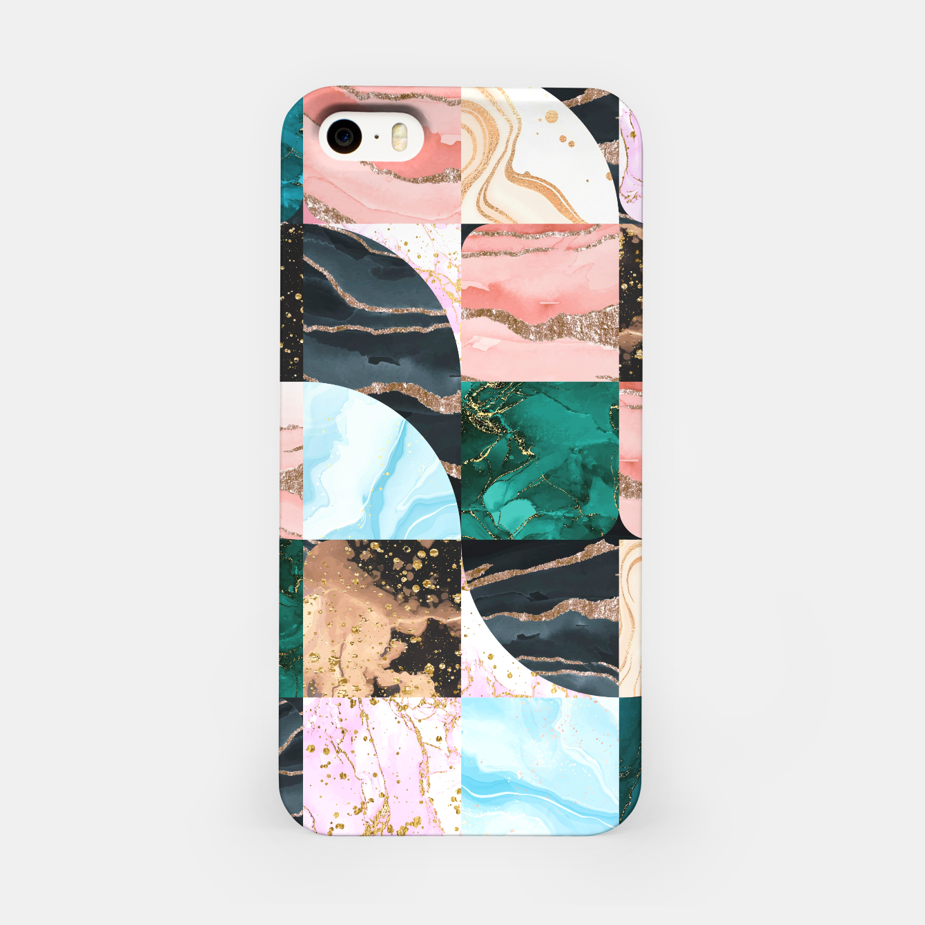 Image of Marble Obsession iPhone Case - Live Heroes