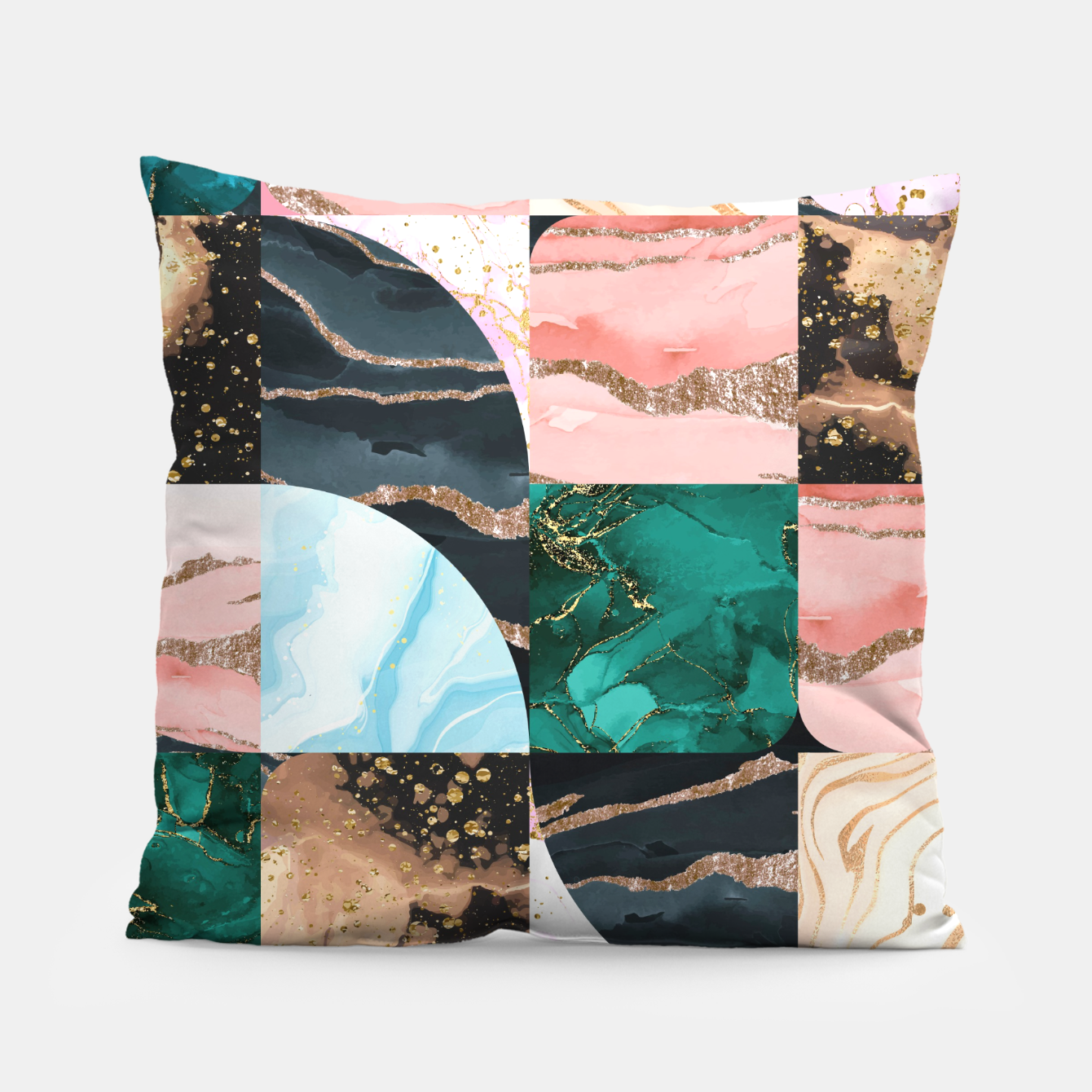 Imagen de Marble Obsession Pillow - Live Heroes