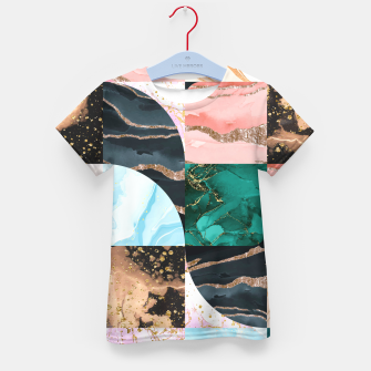 Thumbnail image of Marble Obsession Kid's t-shirt, Live Heroes