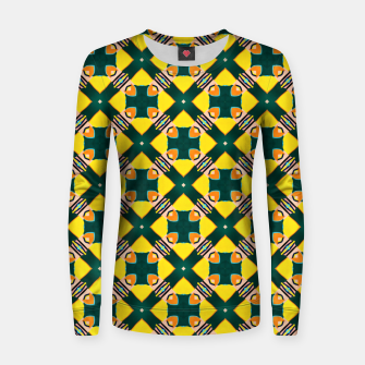 Thumbnail image of Tile Mania Women sweater, Live Heroes