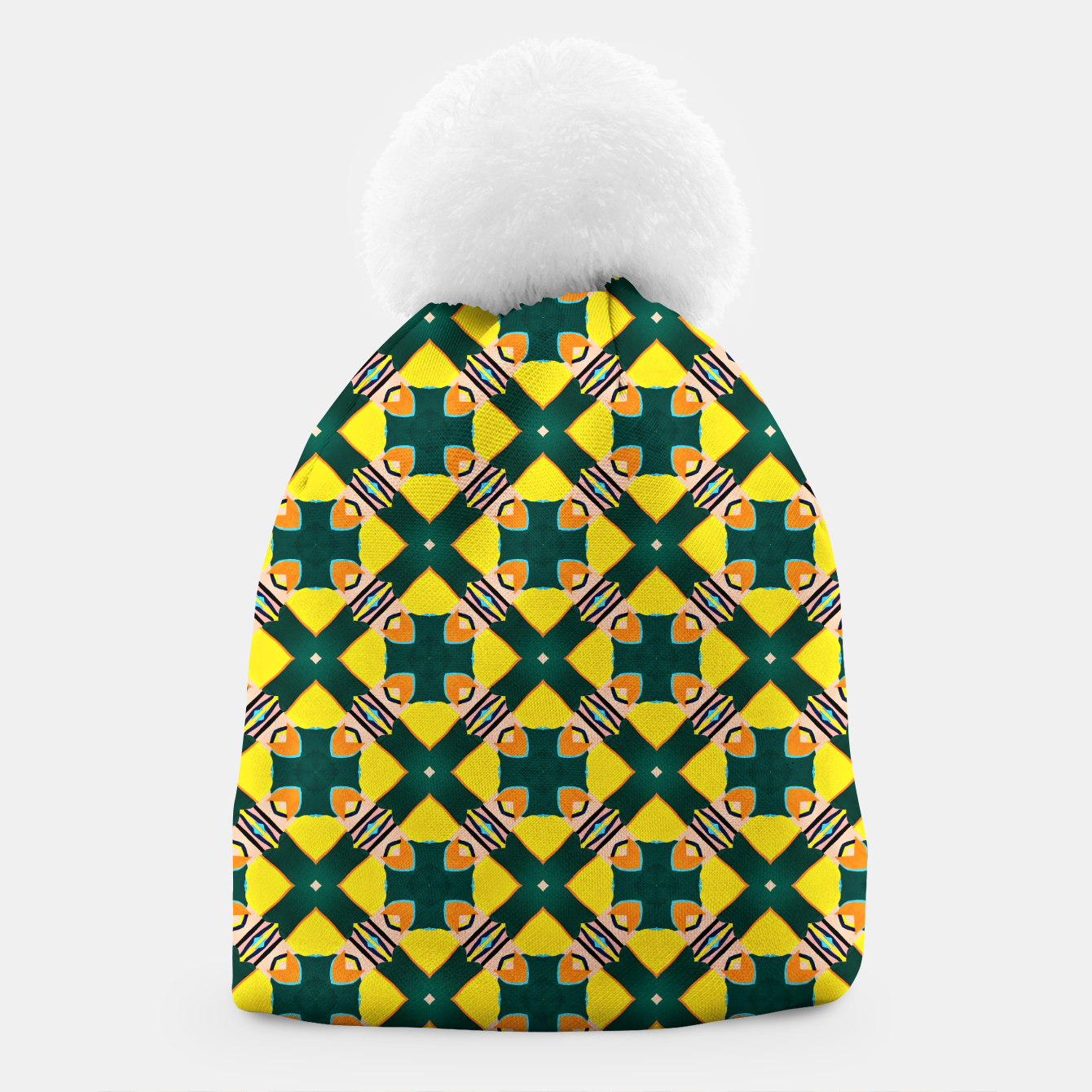Image of Tile Mania Beanie - Live Heroes