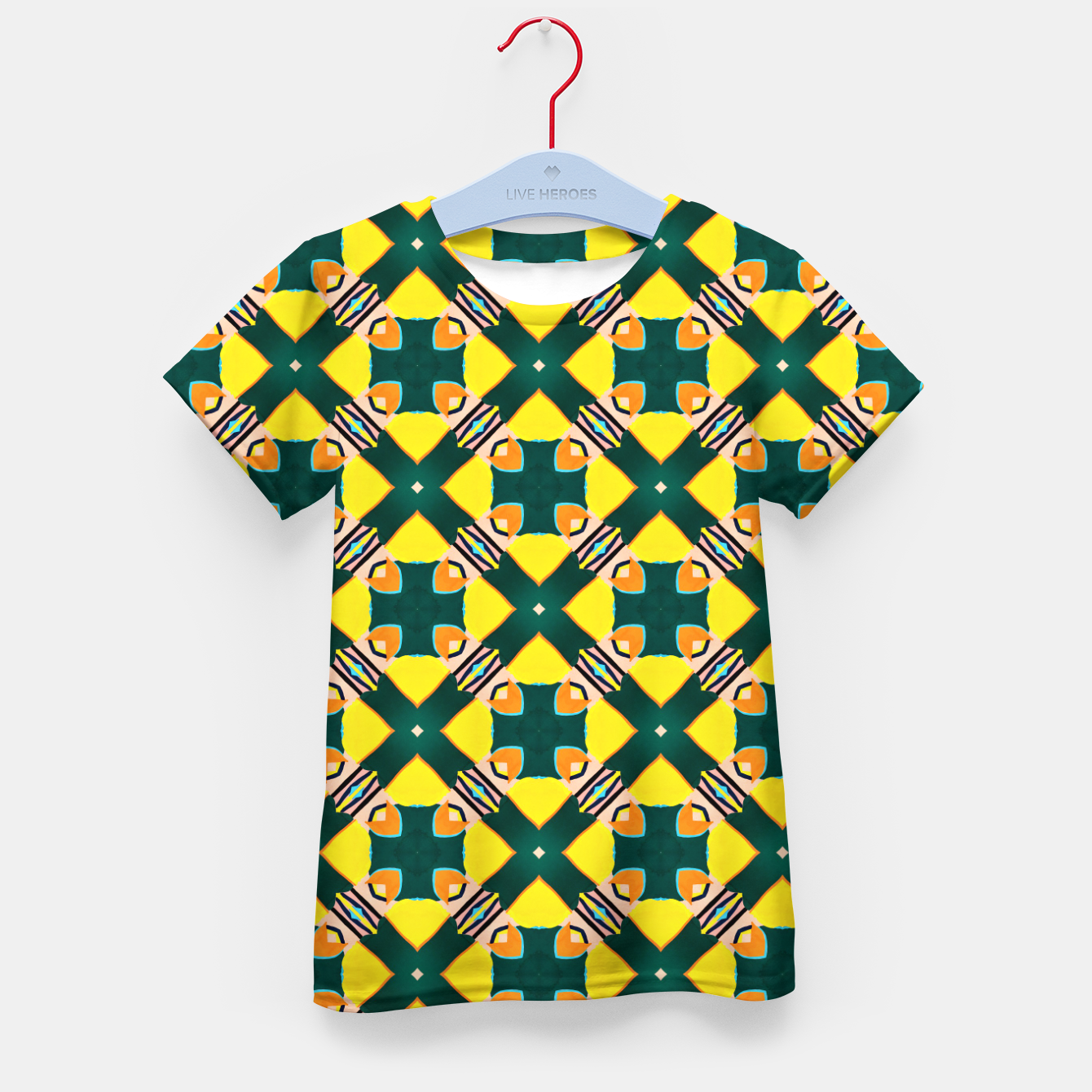 Image of Tile Mania Kid's t-shirt - Live Heroes
