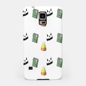 Thumbnail image of Halloween  pattern on white Samsung Case, Live Heroes