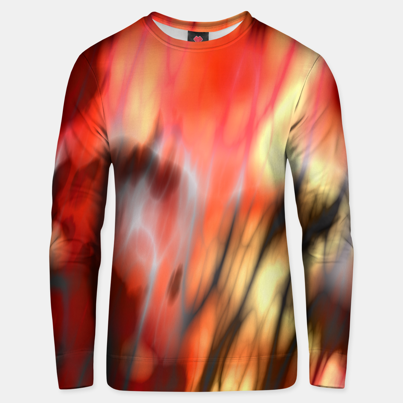 Image of Fire Tiger Unisex sweater - Live Heroes