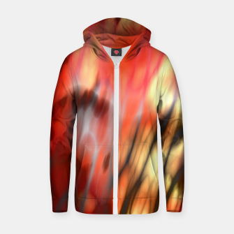 Fire Tiger Zip up hoodie thumbnail image