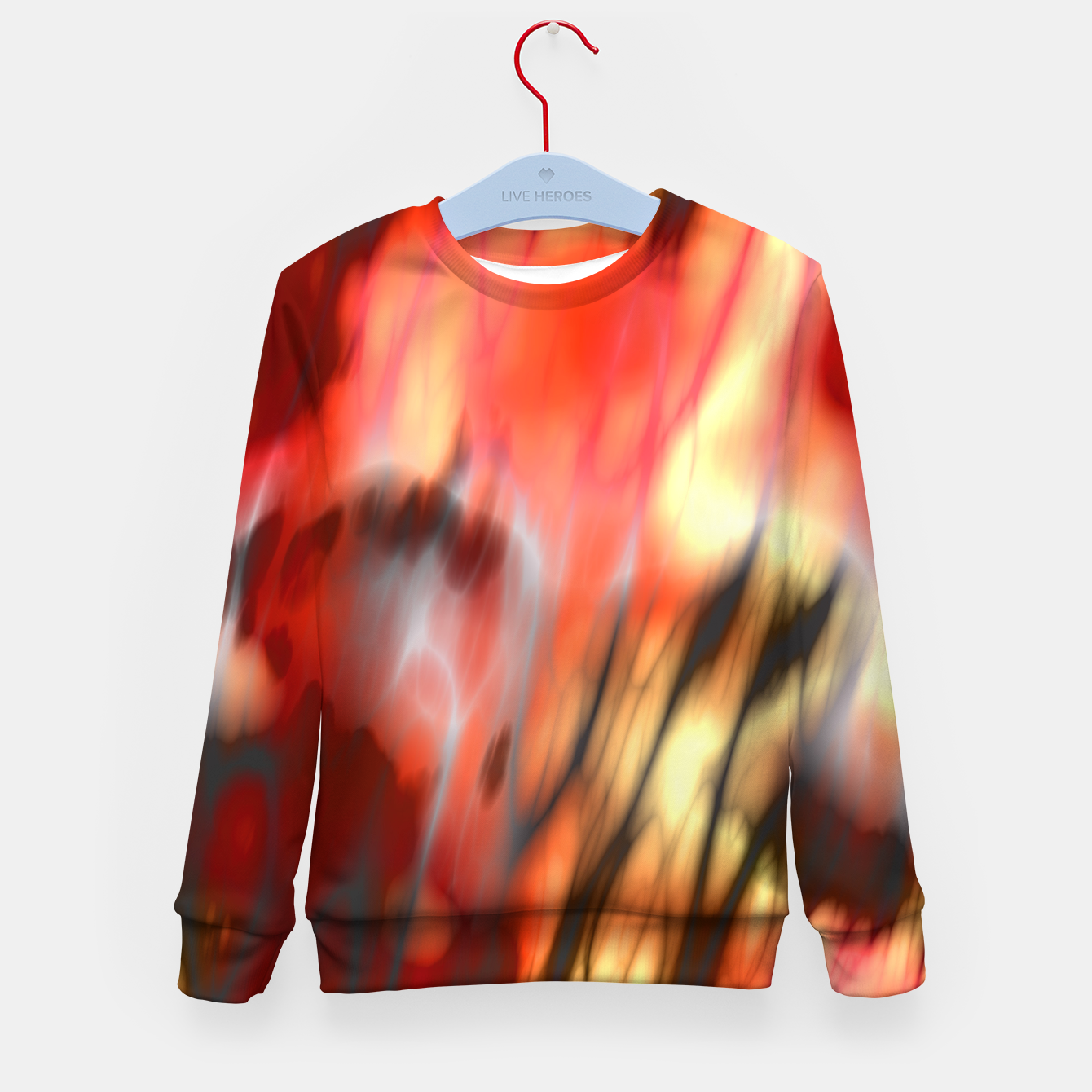 Image of Fire Tiger Kid's sweater - Live Heroes