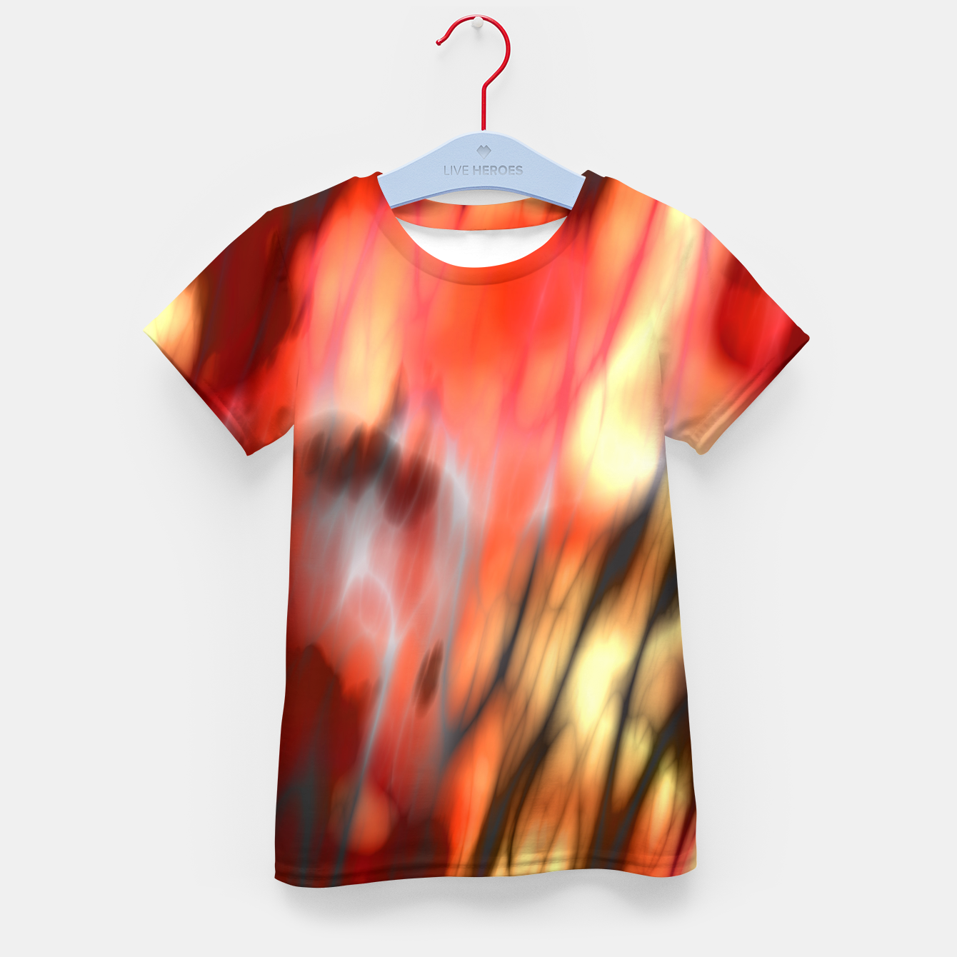 Image of Fire Tiger Kid's t-shirt - Live Heroes