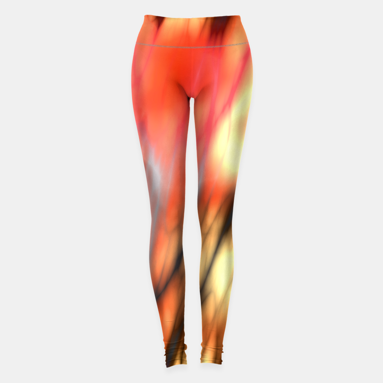 Image of Fire Tiger Leggings - Live Heroes