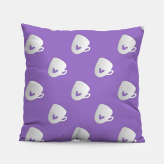 Thumbnail image of Silver mugs on purple Pillow, Live Heroes