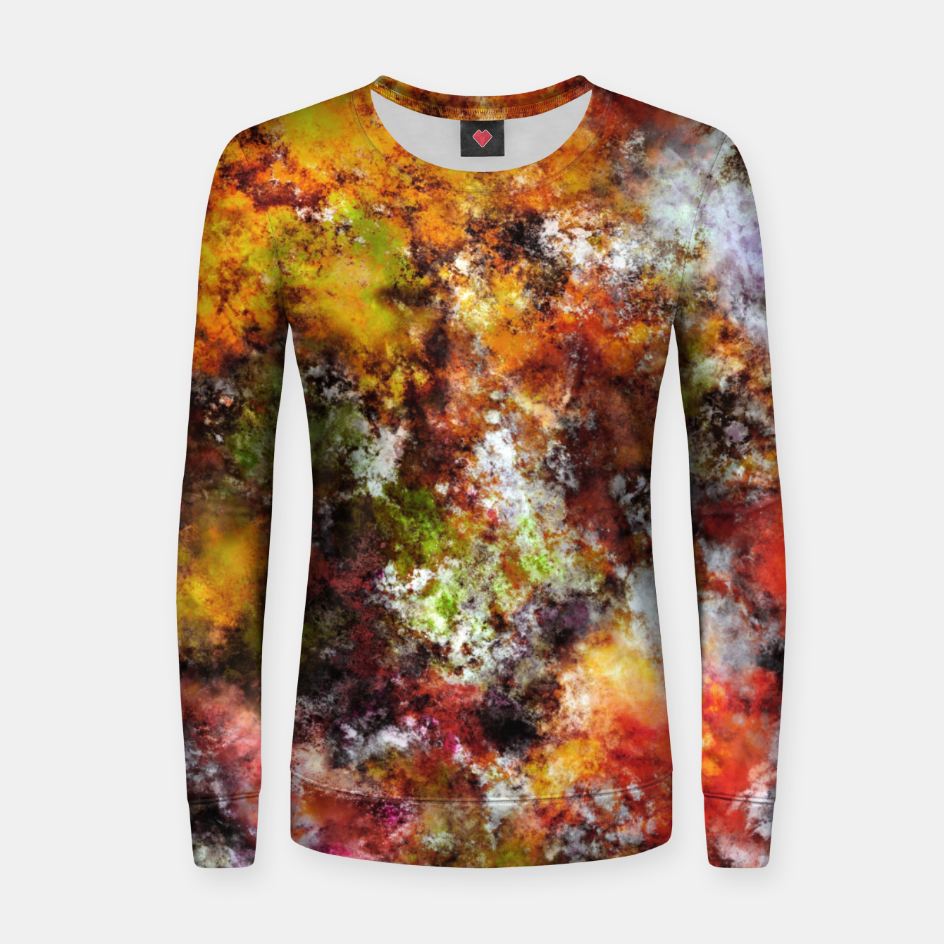 Image of A comfortable wall Women sweater - Live Heroes