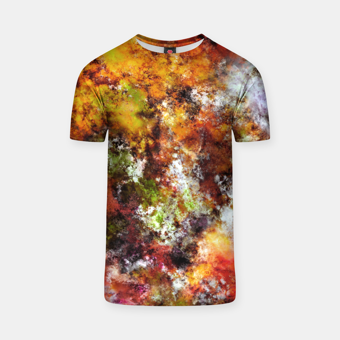 Image of A comfortable wall T-shirt - Live Heroes
