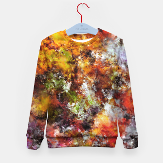 Thumbnail image of A comfortable wall Kid's sweater, Live Heroes