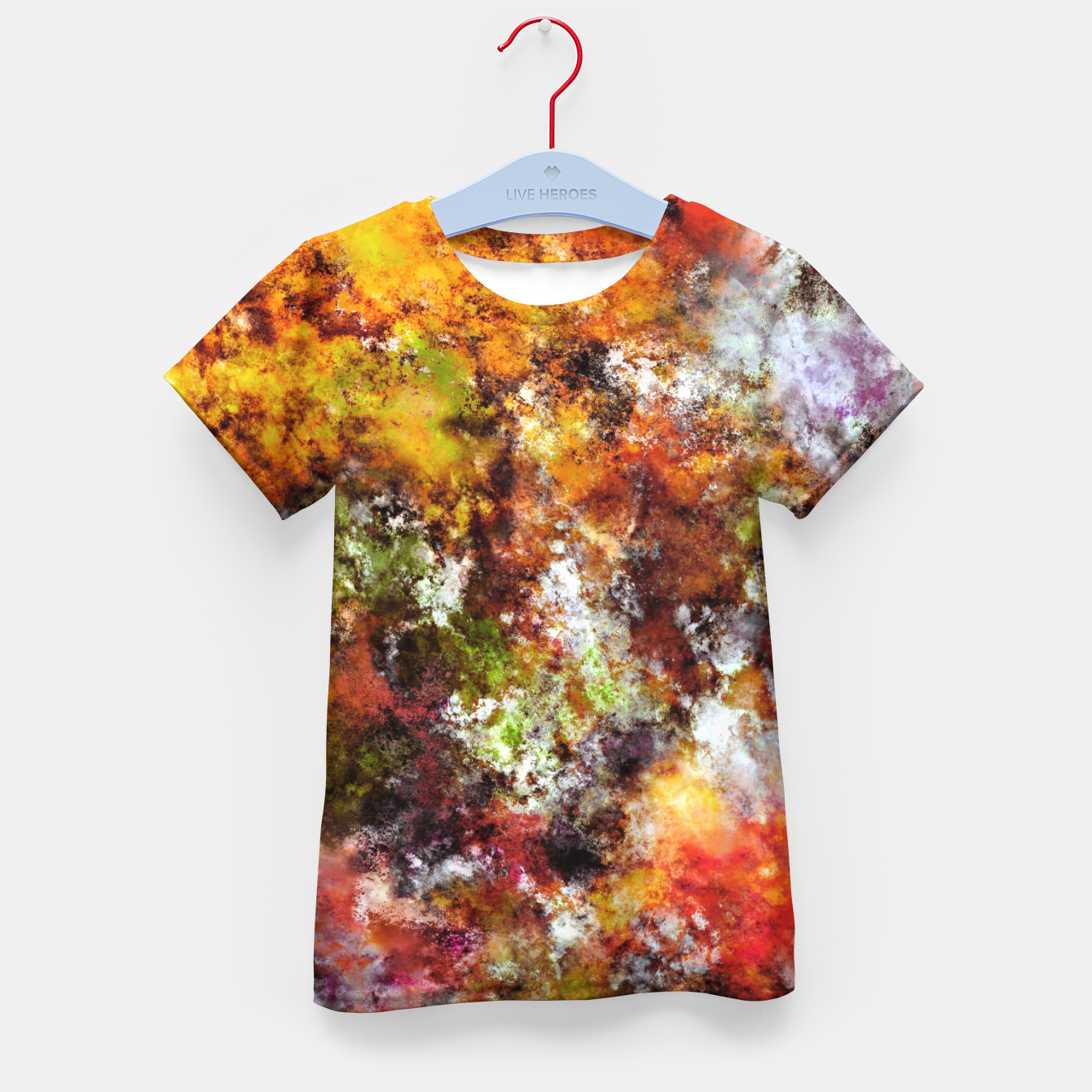 Image of A comfortable wall Kid's t-shirt - Live Heroes