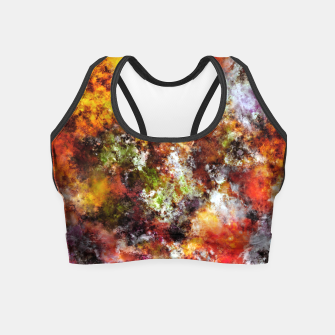 Thumbnail image of A comfortable wall Crop Top, Live Heroes