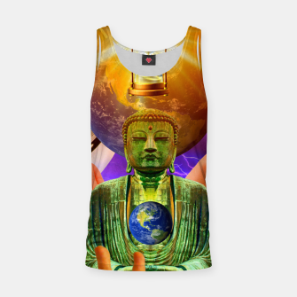 Thumbnail image of BUDDHA TIME AND PLACE CROPPED Tank Top, Live Heroes