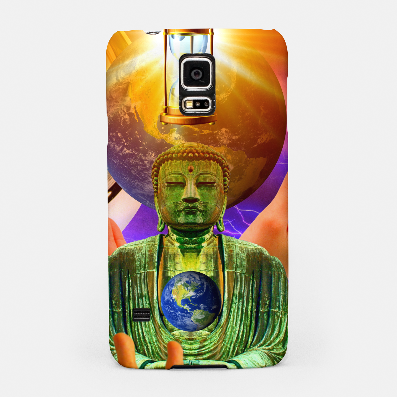 Image of BUDDHA TIME AND PLACE CROPPED Samsung Case - Live Heroes