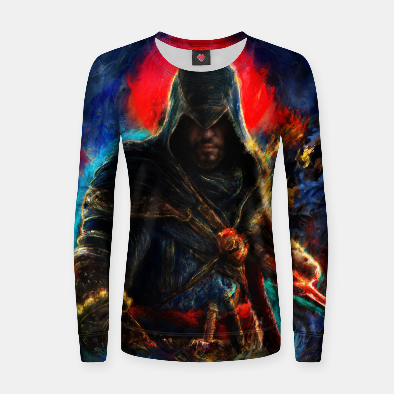Image of assassin's creed ezio auditore Women sweater - Live Heroes