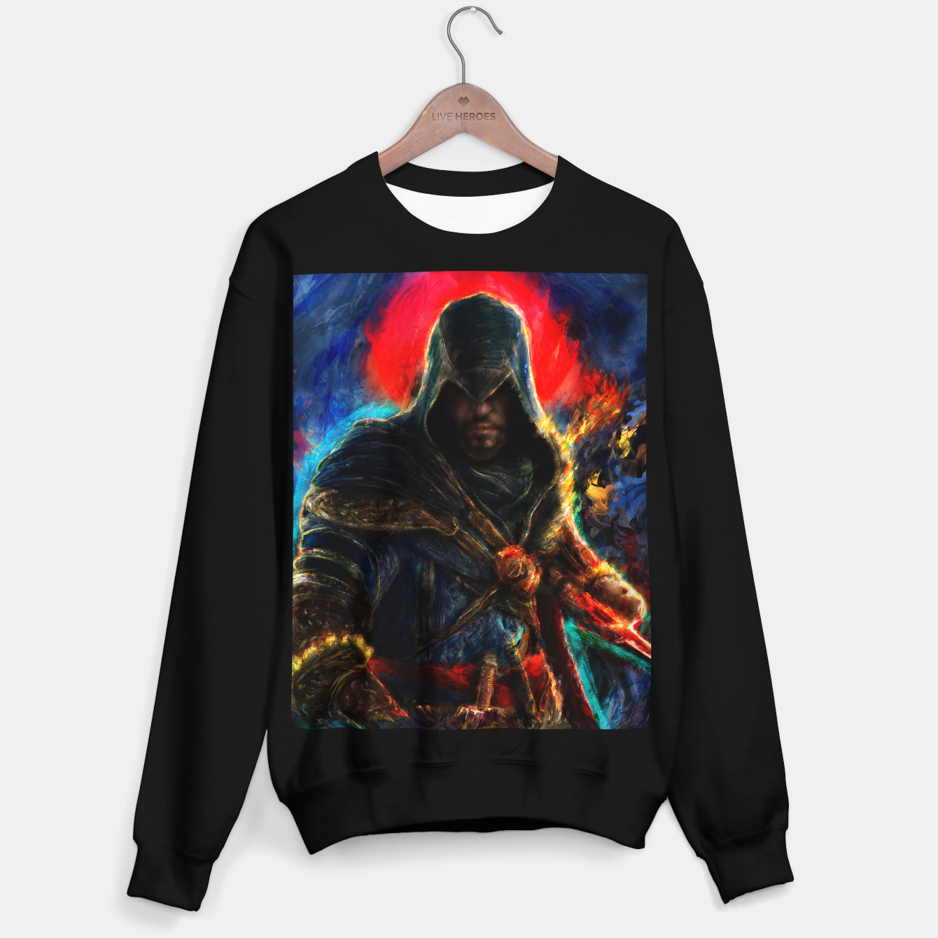 Image of assassin's creed ezio auditore Sweater regular - Live Heroes