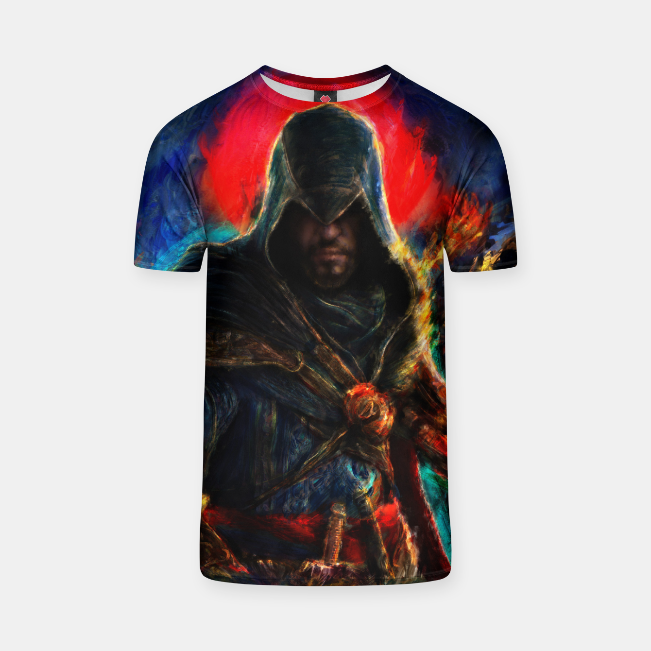 Image of assassin's creed ezio auditore T-shirt - Live Heroes