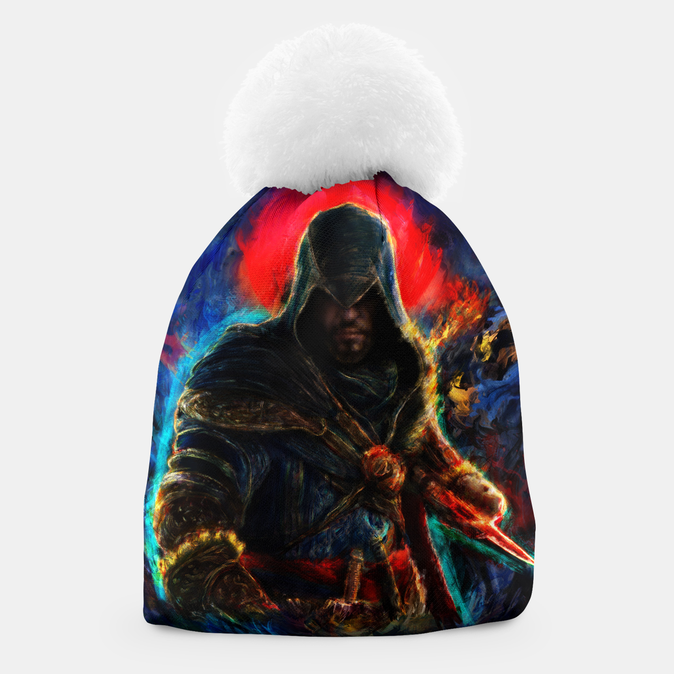 Image of assassin's creed ezio auditore Beanie - Live Heroes