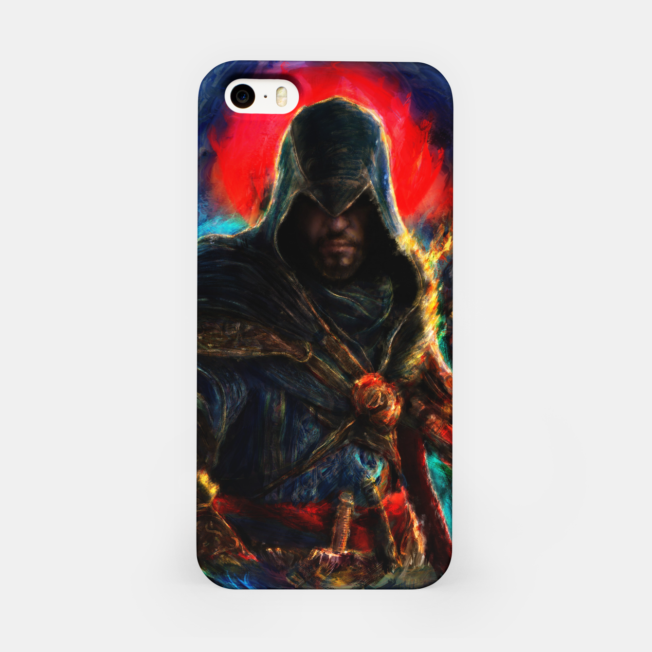Image of assassin's creed ezio auditore iPhone Case - Live Heroes