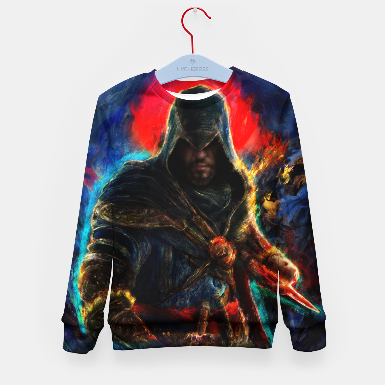 Image of assassin's creed ezio auditore Kid's sweater - Live Heroes