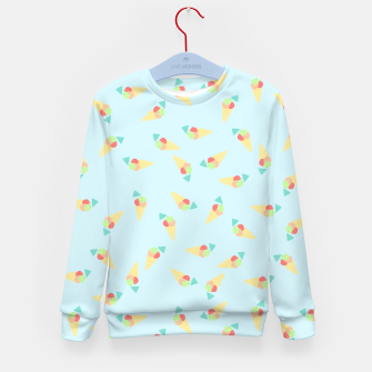 Thumbnail image of Kid's sweater Ice cream, Live Heroes